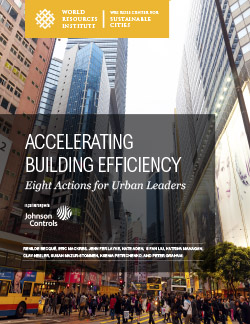 Accelerating Building Efficiency: Eight Actions for Urban